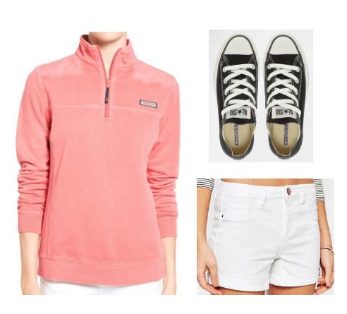 Pink Vineyard Vine outfit