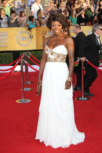 Viola Davis in Marchesa at the 2012 Screen Actor's Guild Awards