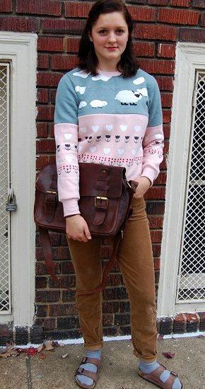 Virginia college street style trends