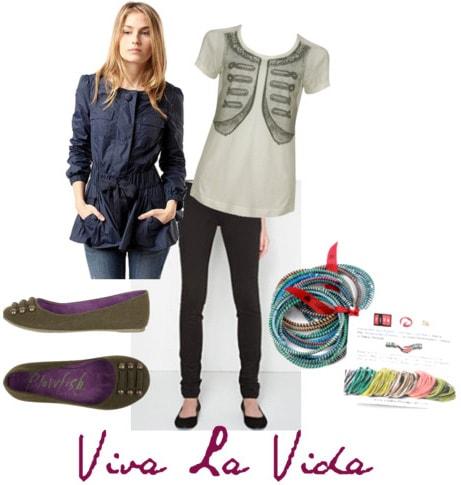 Viva La Vida Outfit