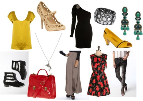 Clothes and accessories inspired by VV Brown