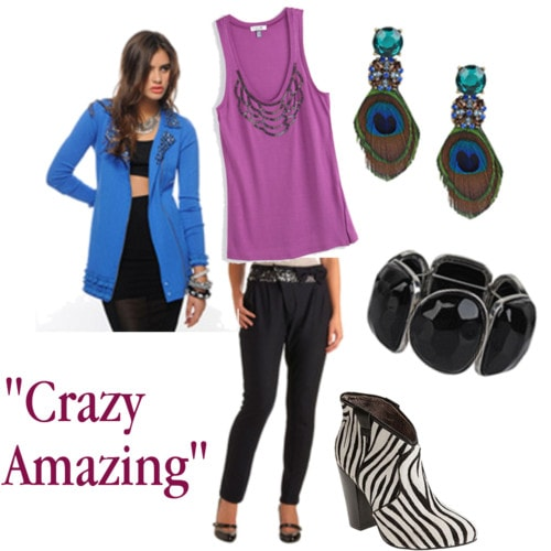 crazy amazing outfit