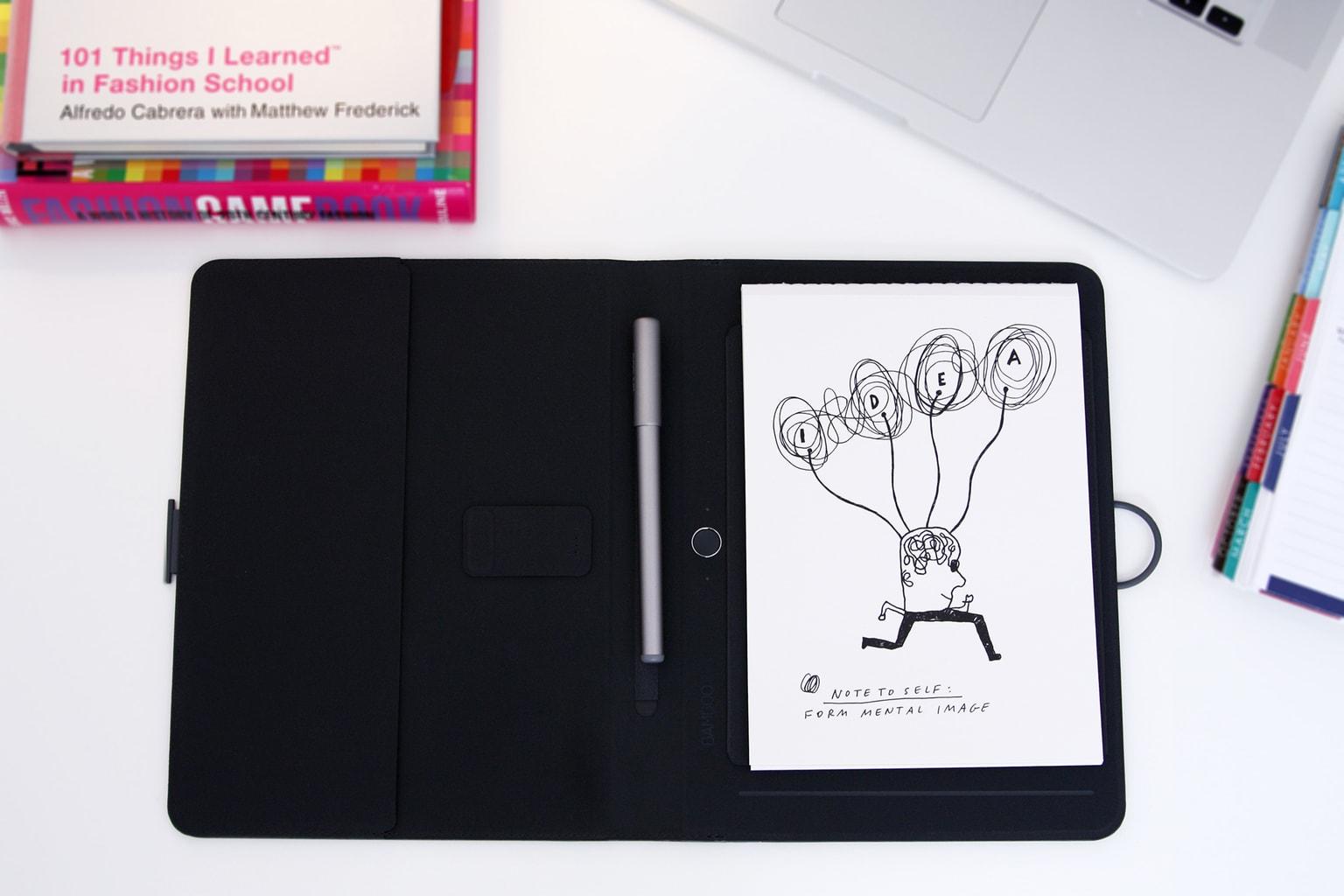 Bamboo Spark smart notebook