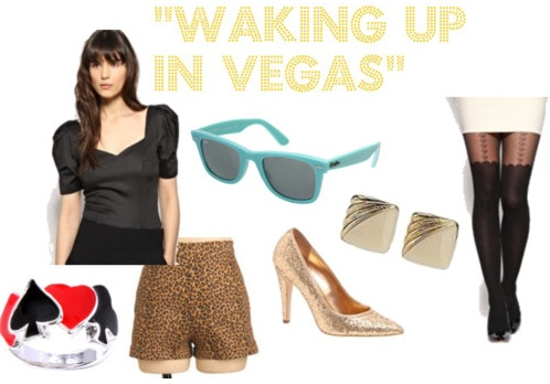 Katy Perry Waking up in Vegas outfit