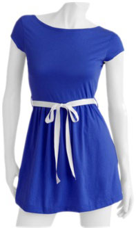 Walmart cobalt blue dress