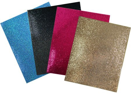 Walmart glitter folders
