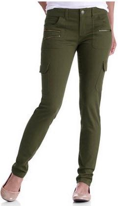 Walmart skinny cargo pants