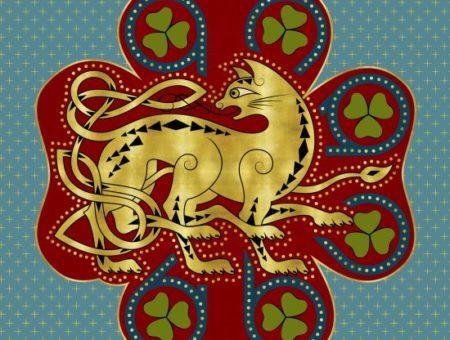 Wampus house crest - Ilvermorny