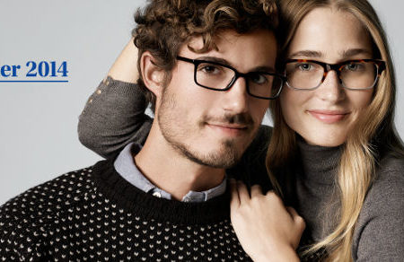 Warby parker winter 2014 ad