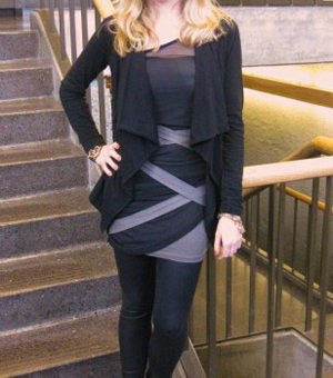 Chrissy, a college fashionista from the University of Washington