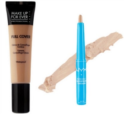Waterproof makeup concealer