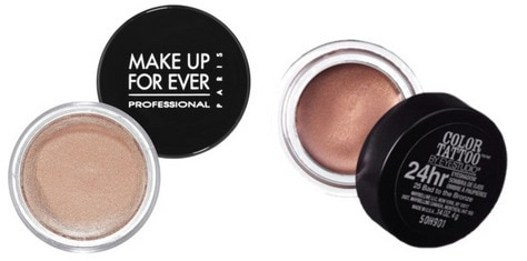 Waterproof makeup eyeshadows
