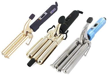 Waving irons for beach hair