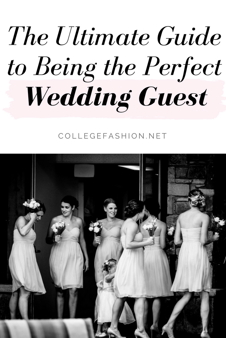 The ultimate guide to being the perfect wedding guest