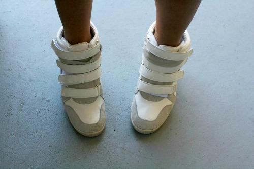 Wedge sneakers at savannah college of art