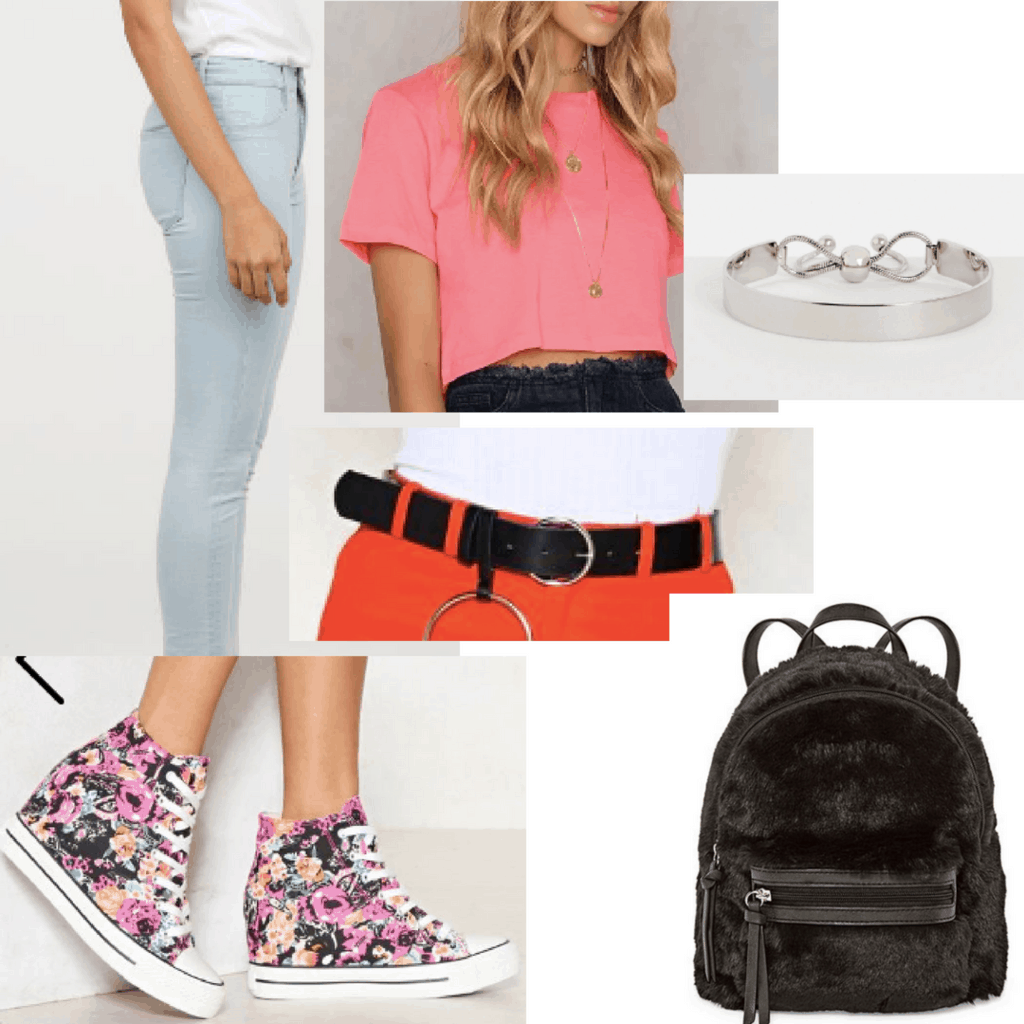 Tipsclass Fashion to night out sporty tee photo