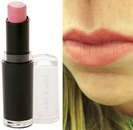 Wet n wild lipstick think pink