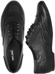 Black oxfords from Wet Seal