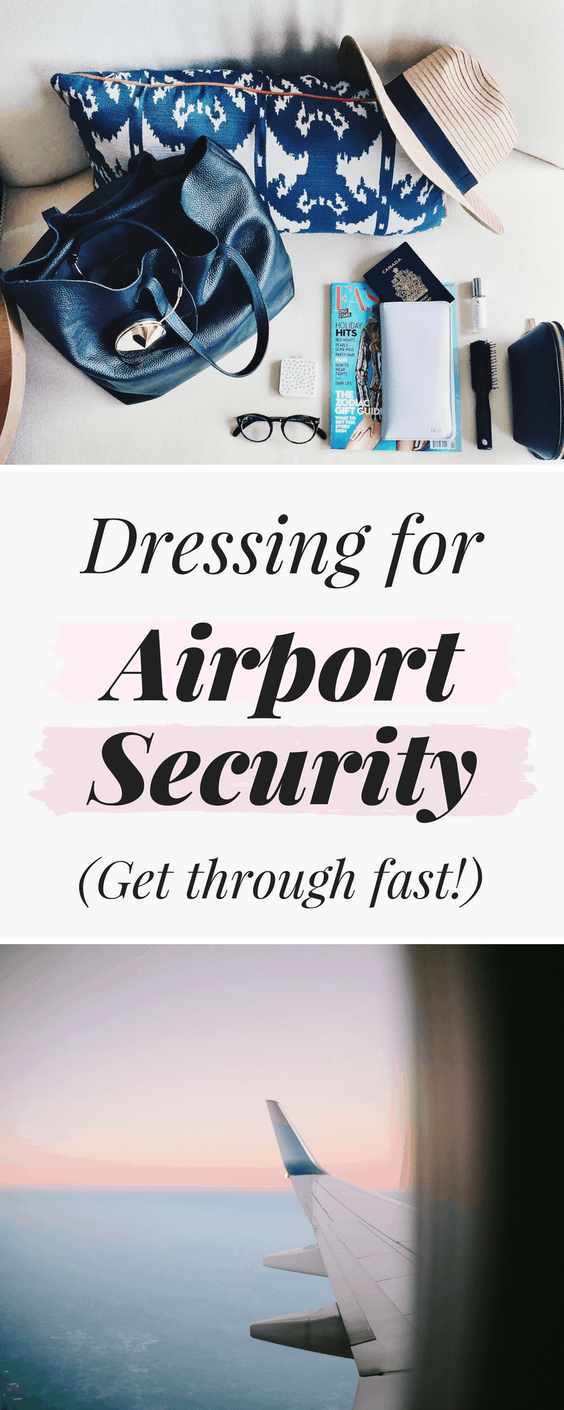 Comfortable airport outfits: What to wear to get through airport security fast