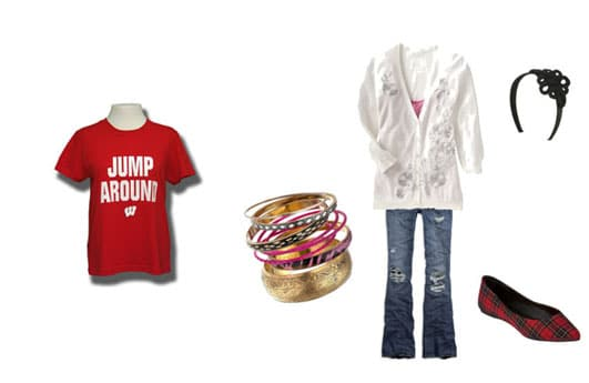what to wear on game days outfit 2
