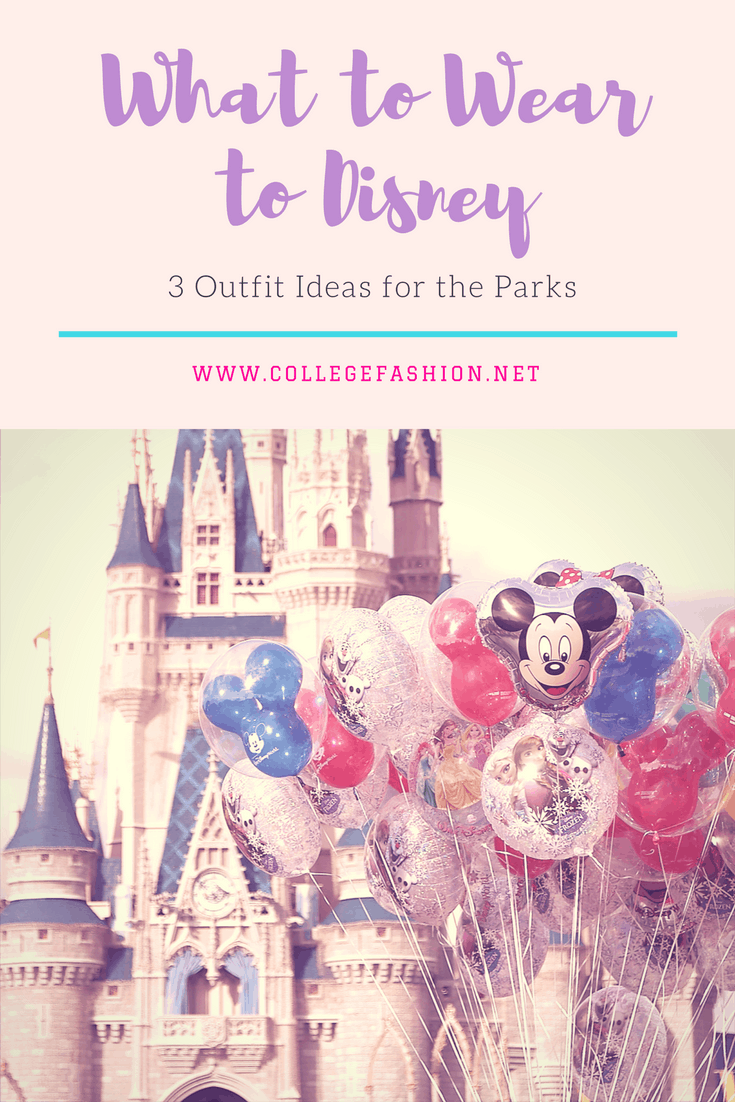 What to wear to Disney: 3 Outfit Ideas for the Parks