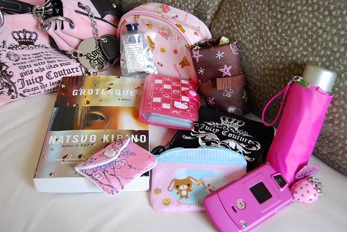 Contents of a purse