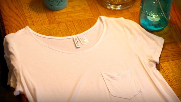 White-Basic-Pocket-Tee-By-Teal-Candles