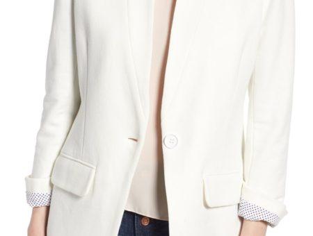 White blazer from Nordstrom