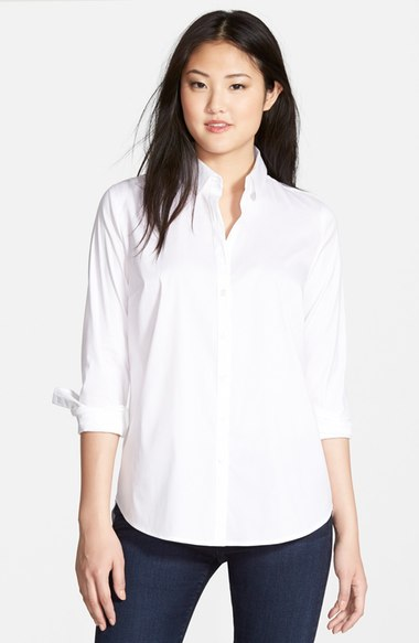 opening image white button down