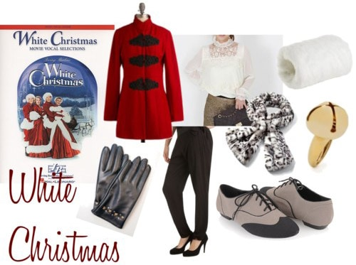 Fashion inspired by the musical White Christmas