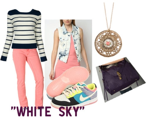 Outfit inspired by Vampire Weekend's White Sky