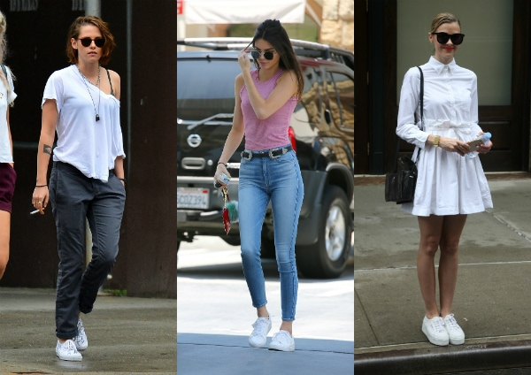 Would You Wear All White Sneakers College Fashion