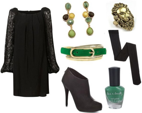 Outfit inspired by the musical Wicked - Elphaba