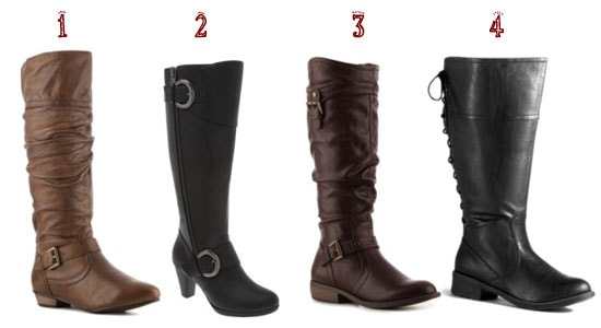 Wide calf boots 1