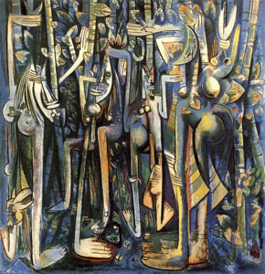 The Jungle by Wifredo Lam