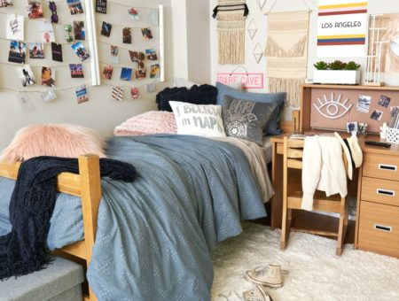 Wild and free room styled by dormify.