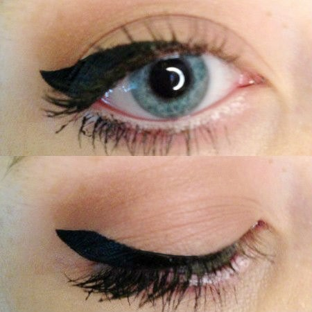 Easy way to apply winged liner