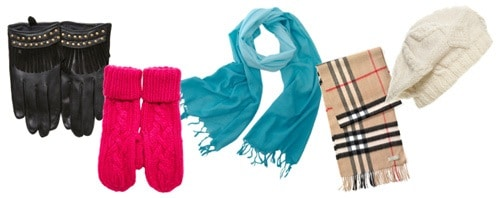 Winter accessories - hats, scarves, mittens, and gloves