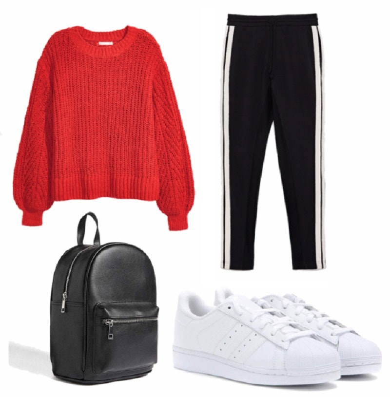 chill study session winter capsule wardrobe outfit