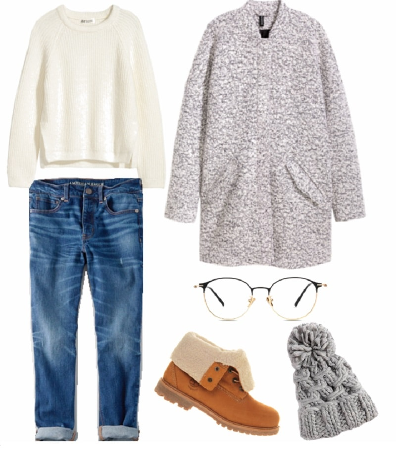 monday class capsule wardrobe outfit