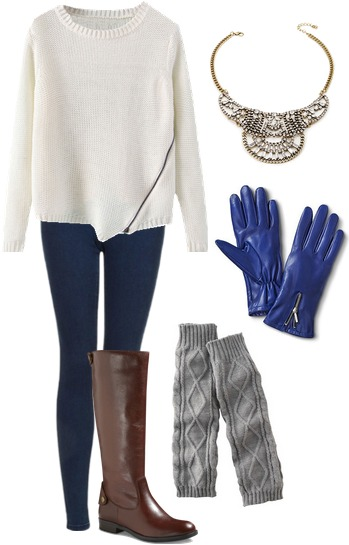 Winter orientation outfit