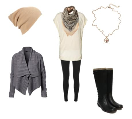 What to wear in snow