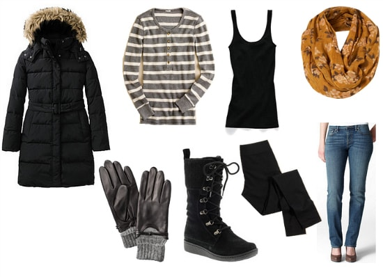 Winter Weather Outfit 4