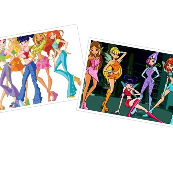 winx club | winx club in civilian clothes, winx club in transformed clothes