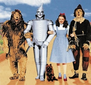 The Cast of the Wizard of Oz Halloween Costumes