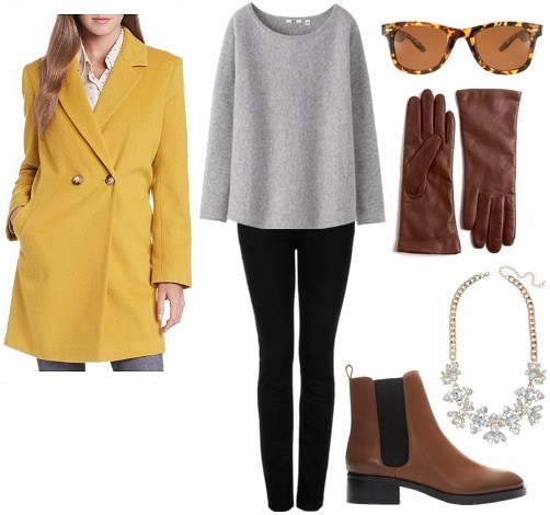 Wool coat outfit