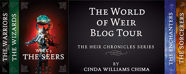 World of Weir blog tour banner