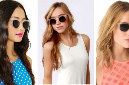 Would you wear lucite sunglasses