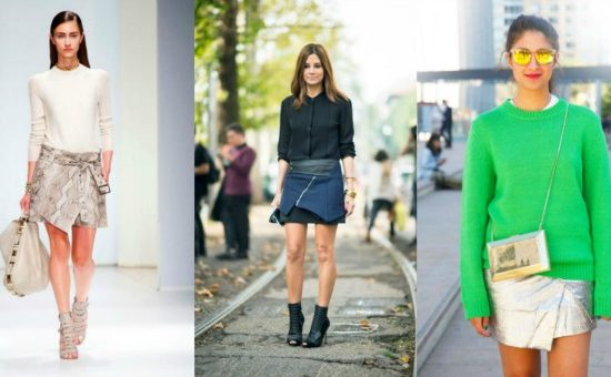 Wrap skirt trend