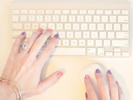 Writing on keyboard